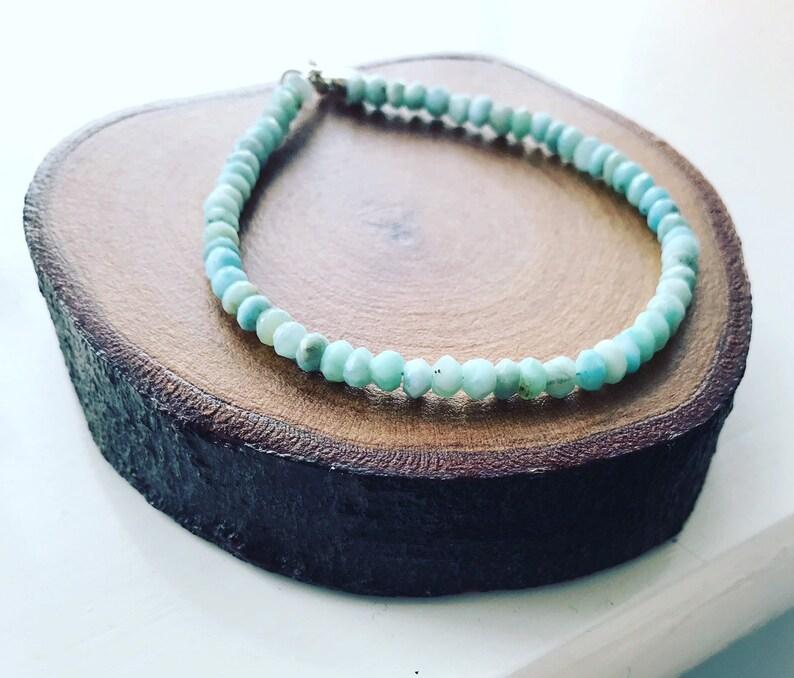 Larimar bracelet