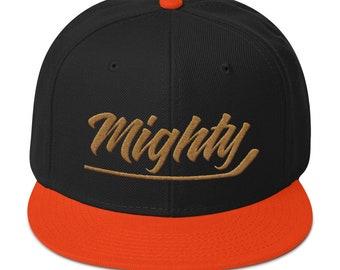 589e7ecefc9 Mighty Anaheim Ducks Hockey Snapback Hat