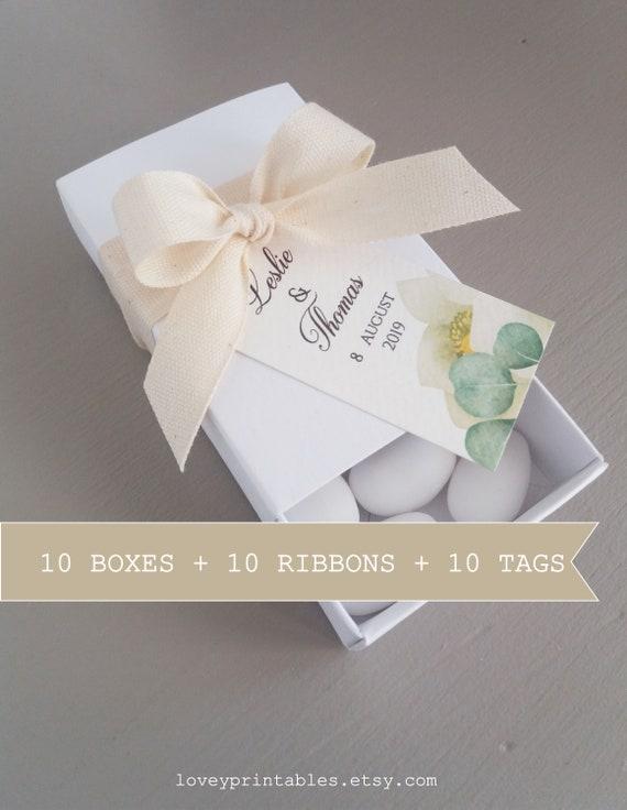 Wedding Favor Boxes Candy Box Sweet Cake Boxes Gift Wedding Party Favor Diy Boho Wedding White Favor Boxes