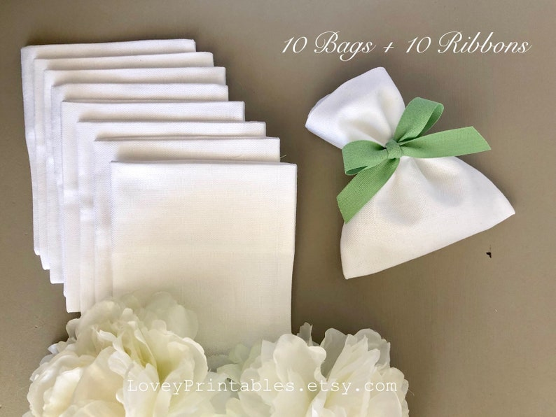 Matrimonio Bomboniere : Sacchetti bianchi matrimonio bomboniere matrimonio fai da te etsy