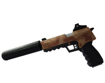 Whisper 45 Suppressed Pistol with moving silencer 043cd276f6