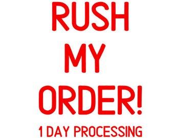 Rush Ordering