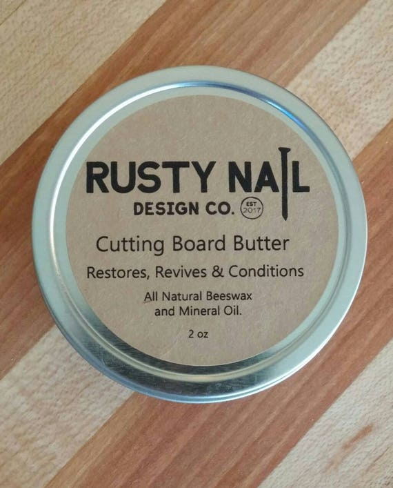 Cutting Board Care Food Safe Beeswax Mineral Oil Polish Etsy