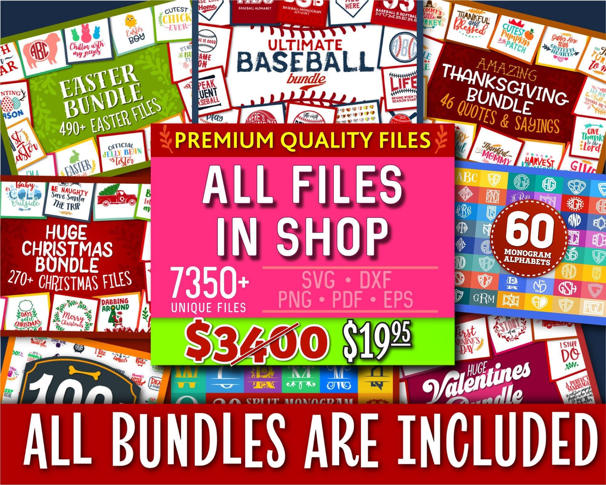 Svg Bundle Svg All Files In Shop Dxf Bundle Dxf In Svg Dxf Etsy