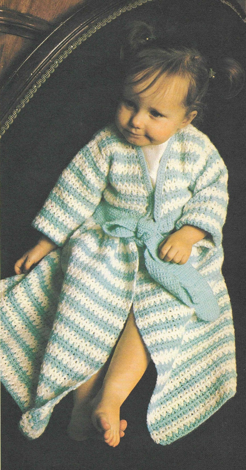 10 x Baby CROCHET PATTERN Crochet Dress Hat Cardigan Toddler Vintage Crochet 16-22 inches Baby Crochet Patterns PDF instant download