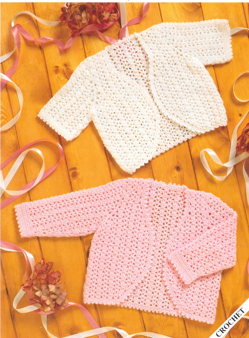 e796323a3d5a Baby CROCHET PATTERN Crochet Cardigan Bolero Crochet Newborn