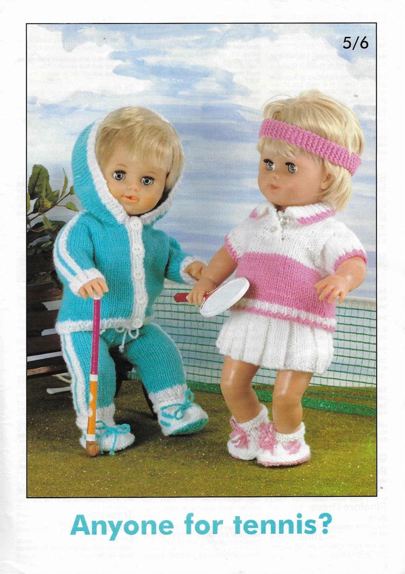 139e2656499730 13 x Baby Dolls Knitting Patterns Outfits Dress Coat Sweater