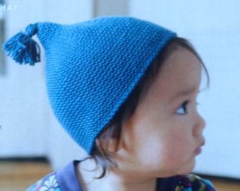 Pixie Hat Crochet Pattern Cute Crochet Pattern Cap Baby Hat Toddler Hat PDF Instant Download