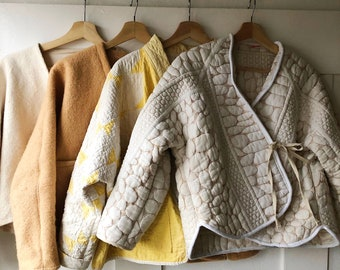 All Well Cardigan Coat Sewing Pattern + Hacking Guide