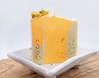 Breeze & Sunshine   Cold Process Soap   Goat Milk Soap   Goat Milk Bar   Sensitive Skin   Soap Top   Sunshine Soap   Summer Soap   New