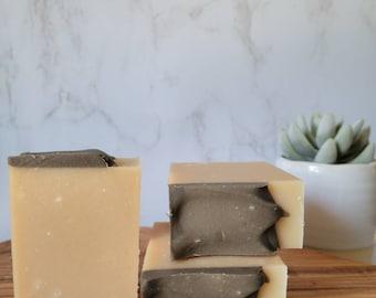 Outdoorsman Goat Milk Soap   Cold Process Soap   Goat Milk Soap   Goat Milk Bar   Sensitive Skin   Manly Scent   Man Bar    Masculine soap