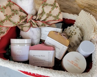 Holiday Gift Sets   Gift Sets   Gifts   Christmas Gifts   Goat Milk Soap Gift Set   Natural Gift Set   Gifts for her   Gifts for him