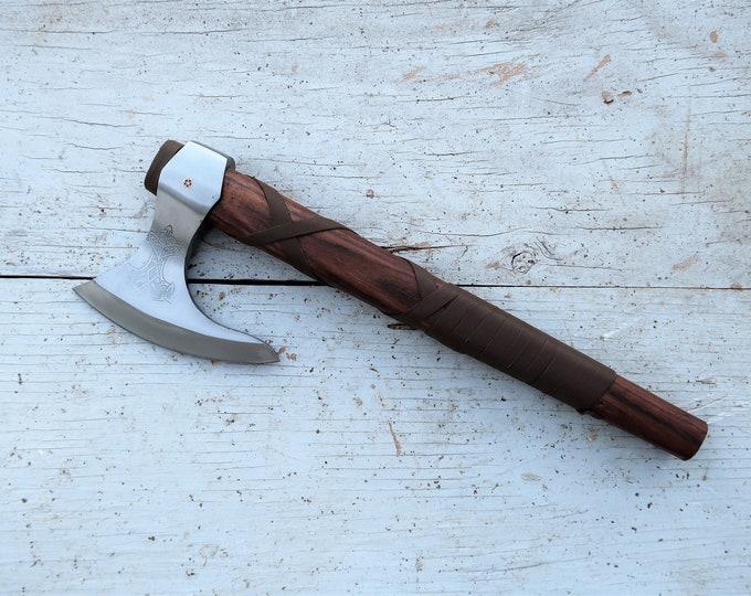 Valhalla Hammer Etched Viking Ax