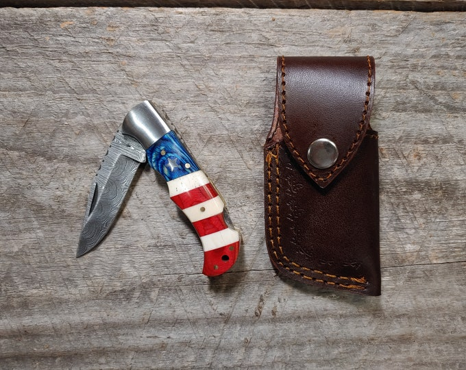 Old Glory Folding Knife