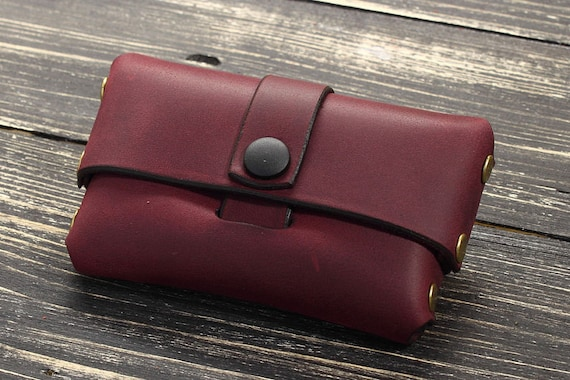 image 0 - Leather Business Card Case