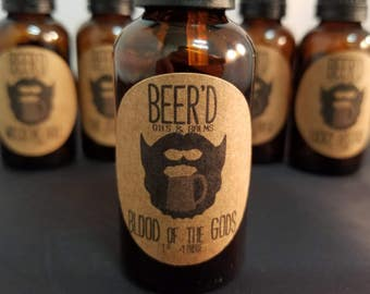 Blood of the Gods Beer-Infused Beard Oil