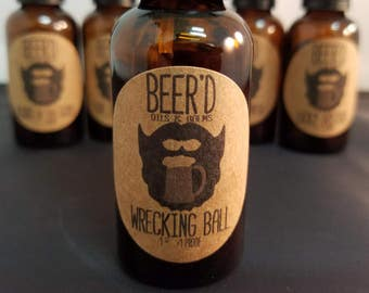 Wrecking Ball Beer-Infused Beard Oil