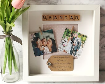 Personalised Grandad Frame Gift For Ideas Present Birthday Fathers Day