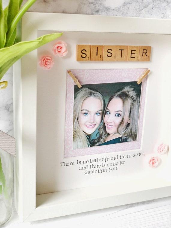 Handmade sister frame