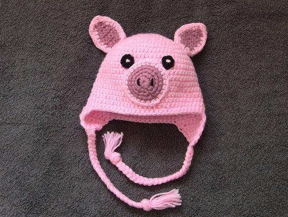 Child/'s Pig Hat Pig Hat.