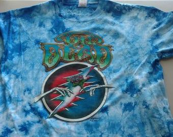The Dead tie dye concert tour xl t-shirt grateful dead