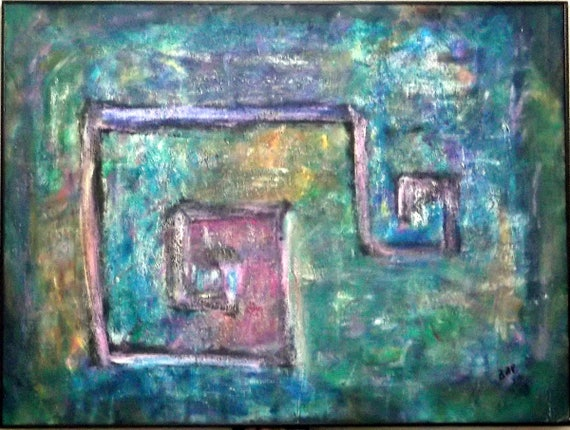 Abstract Greek Art Large