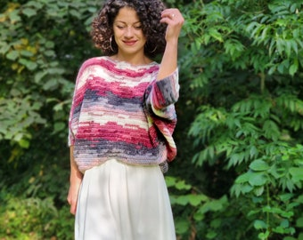 Crochet Pattern//Bat Wings Sweater