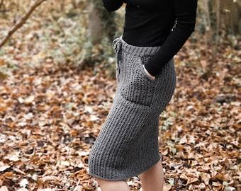 Crochet Pattern//Hobble Skirt