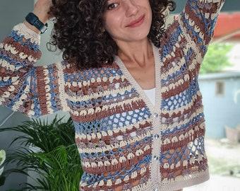 Crochet Pattern//Late Summer Blouse