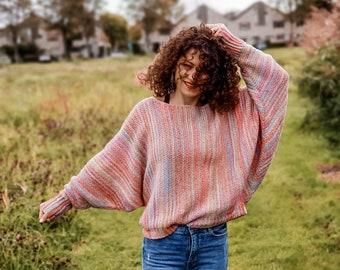 Crochet Pattern//Sunset Sweater