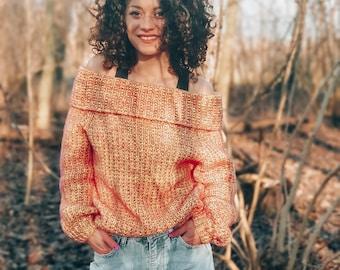 Knitting Pattern//Warm Me Up Sweater