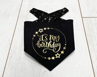 Birthday Bandanas