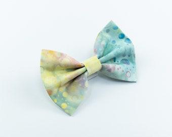 Summer Vibes Batik dog bow tie
