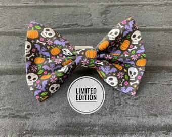 Limited Edition Halloween motifs Dog Bow Tie