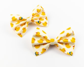 Totally Quackers Dog Bow Tie