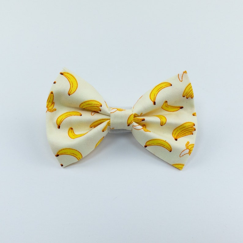 Banana dog bow tie image 0