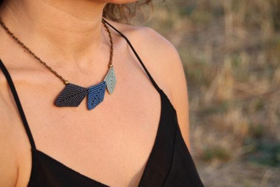 Macrame Nature Necklace