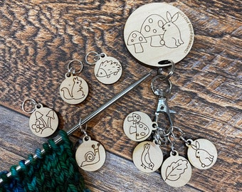 Stitch Markers, Knitting Marker, Stitch Marker for Knitting, Sheep stitch markers, crochet markers, stitch marker set