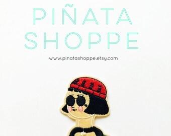 Mathilda Lando from the Professional Iron-On Patch | Piñata Shoppe