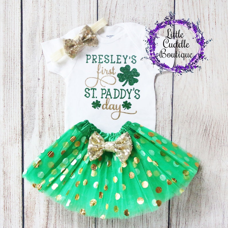 0063d2fba212 Personalized St. Patrick s Day Outfit St. Patrick s