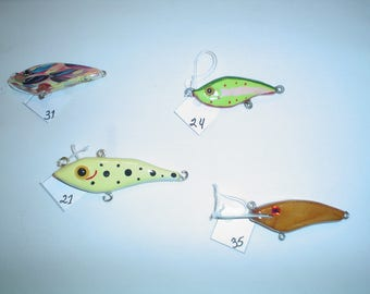 "Bass and Muskie  Lures 3"" - 4"""