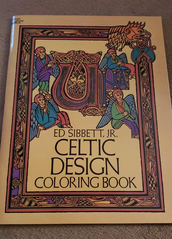 Celtic Design Adult Coloring Book
