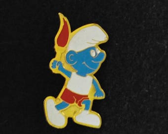 Smurf Olympic Pin With Case