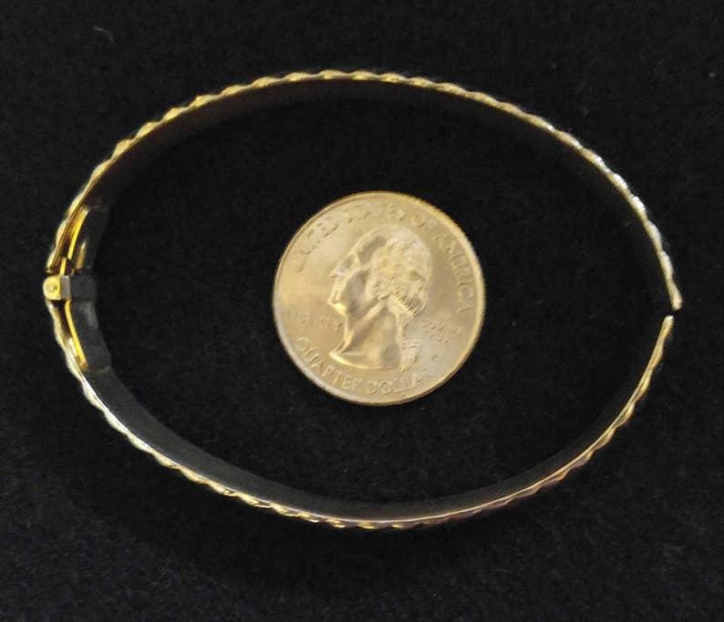 Monet Hinged Metal Bracelet