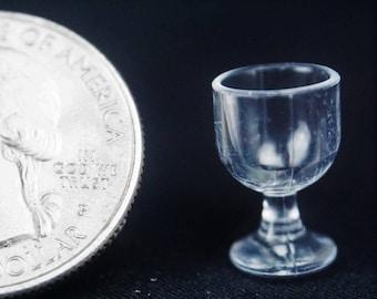 Wine Glass: Handley House, garden supplies, fairy garden, dollhouse, miniature,