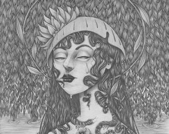 Ophelia (Get Thee to a Nunnery) - Giclee Print