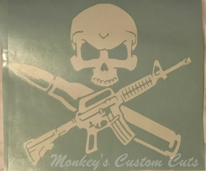 Gun Safe Decal, Skulls and Guns, Skull Decal, Gun Decal, Decal for Gun  Safe, Gun Safe Art, Safe Art, Safe Decal, Skull and Gun Decal, Gun