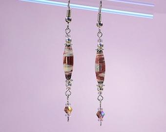 Cherry Soda Pop Dangle Earrings #437