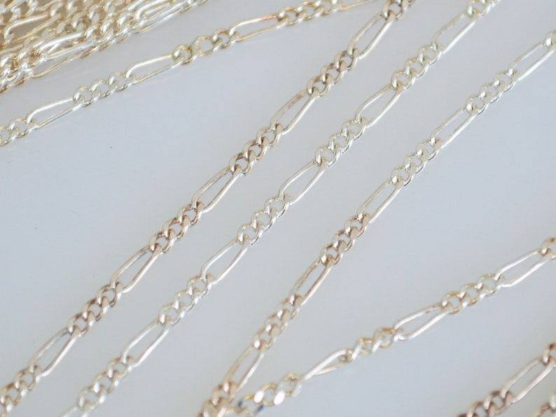 16 and 18 inch .925 Sterling Silver Chain Solid Sterling Silver Finding Chain #882