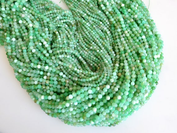 Tiny Semi Precious Spinel Beads Blue Green Purple Color Faceted Round 2mm #2027